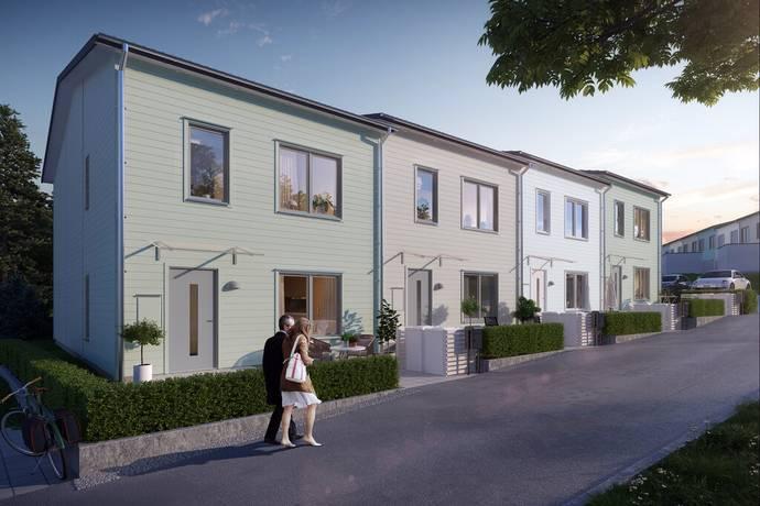 Bild: 5 rum radhus på Fina Svenséns gata, Södertälje kommun Glasberga