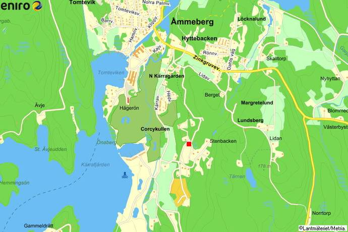 askersund karta Kärraberget 1 i Åmmeberg, Askersund, Åmmeberg   Tomt till salu  askersund karta