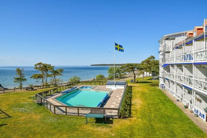Bild: 35 m² fritidshus på Brf Byerum Strandbad, Horns kustväg 459, Borgholms kommun Byrum