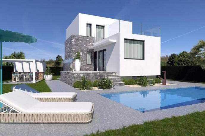 Bild: 5 rum villa på Lyxvilla på stor tomt med trädgård och pool, Spanien Costa Blanca, Polop