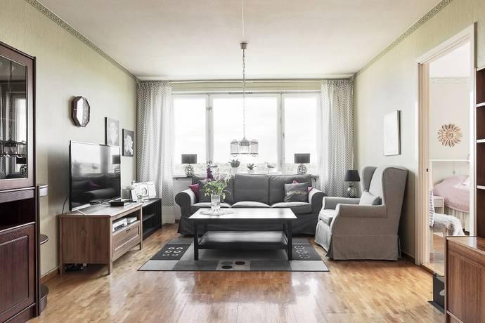 Bild: 3,5 rum bostadsrätt på Vintrosagatan 11, Stockholms kommun Hagsätra