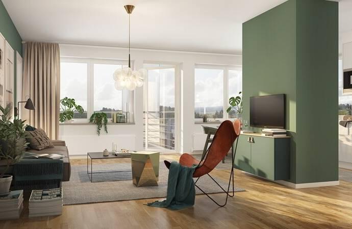 Bild: 4 rum bostadsrätt på Åbroddgatan 5, Örebro kommun Sörbyängen