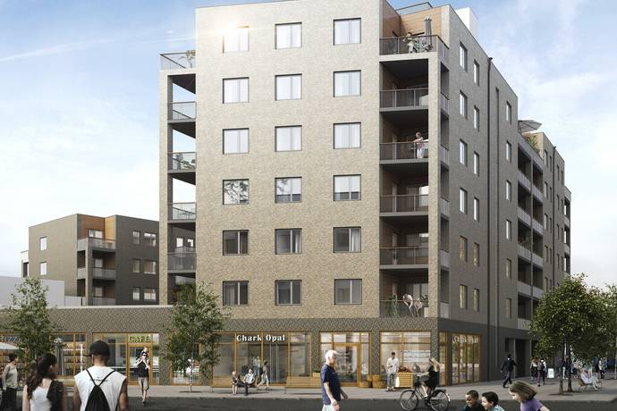 Bild: 1 rum bostadsrätt på Kastanjeallén, Göteborgs kommun Tynnered