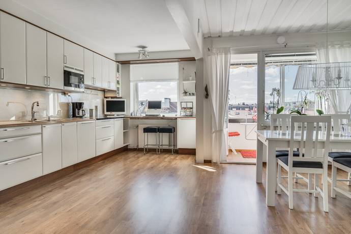 Bild: 4 rum bostadsrätt på Köpmangatan 16C, Skellefteå kommun Centrala Stan