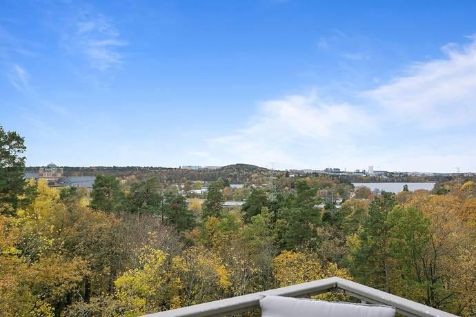 Bild: 4 rum bostadsrätt på Docentbacken 11, 6 tr, Stockholms kommun Ekhagen / Norra Djurgården