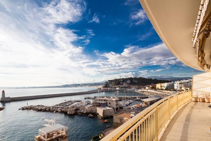 Bild: 2 rum bostadsrätt på Nice, Cap de Nice, Frankrike Franska Rivieran