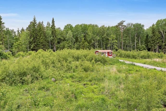 Bild: tomt på Prästängsvägen 110, Norrtälje kommun Herräng