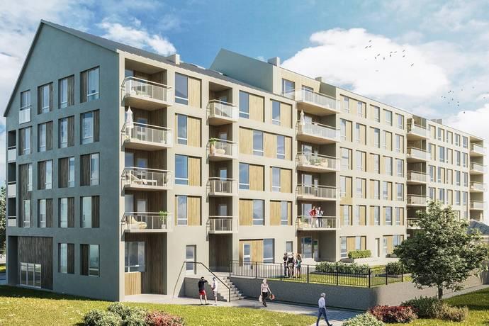 Bild: bostadsrätt på Vingen i Södra Ladugårdsängen, Örebro kommun Ladugårdsängen