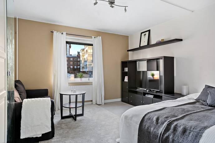 Bild: 1 rum bostadsrätt på Rådsvägen 5C, Huddinge kommun Centrala Huddinge