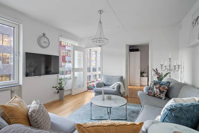Bild: 2 rum bostadsrätt på Evenemangsgatan 8, Solna kommun Arenastaden