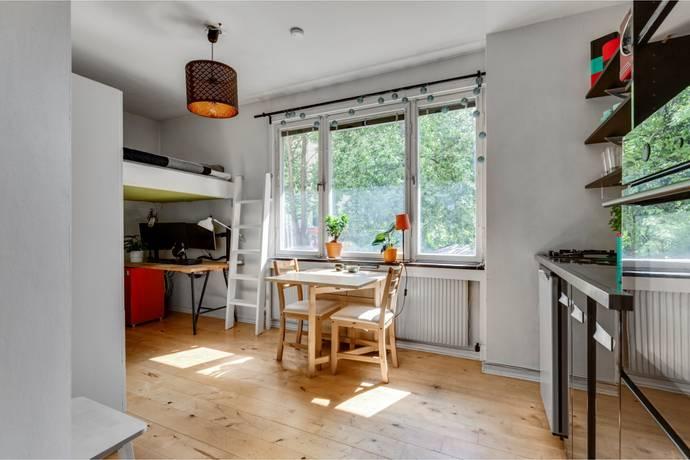 Bild: 1 rum bostadsrätt på Svandammsvägen 3, Stockholms kommun Midsommarkransen