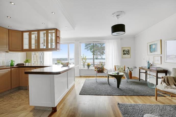Bild: 3 rum bostadsrätt på Solstigen 4C, Lidingö kommun Herserud