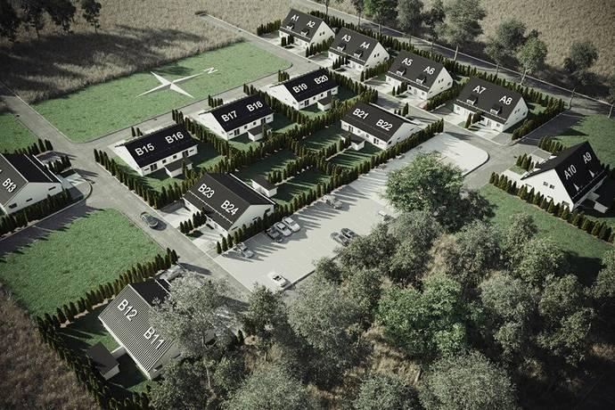 Bild: 3 rum radhus på Murkelvägen B23, Trelleborgs kommun Beddingestrand