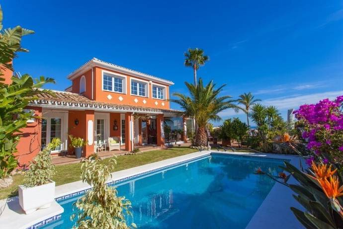 Bild: 5 rum radhus på Unika villa med vackar  vyer, design och i utmärkt skick., Spanien Mijas Costa - Calahonda