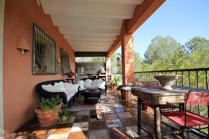 Bild: 3 rum villa på Trevlig enplansvilla uppe i bergen i Tarbena, Spanien COSTA BLANCA - BOLULLA