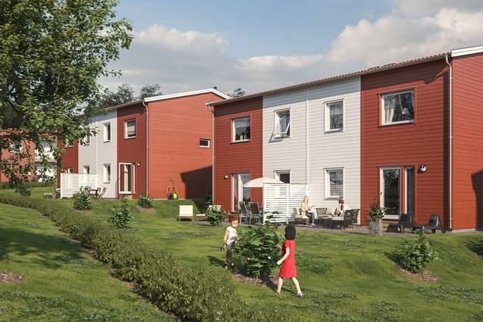 Bild från Kronogården - BoKlok Hustomten