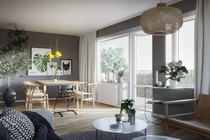 Bild: 3 rum bostadsrätt på Settergatan 2, Stockholms kommun Norra Djurgårdsstaden