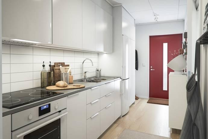 Bild: 1 rum bostadsrätt på Safirgatan, Västerås kommun Bäckby Centrum