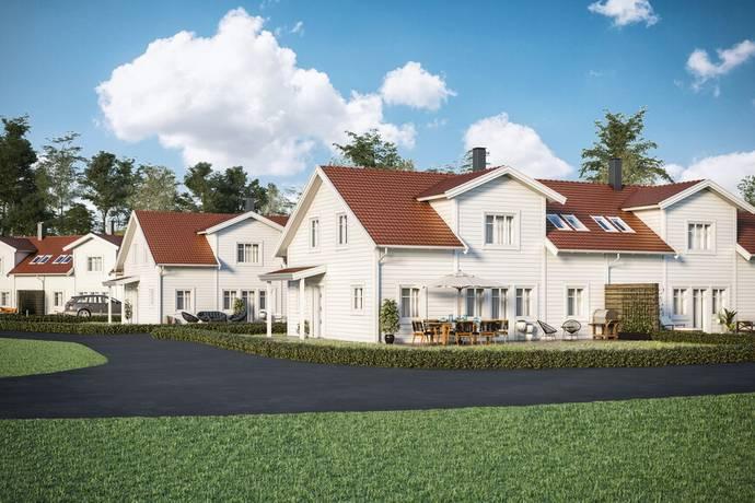 Bild: 6 rum radhus på Kulleskärsvägen, Kungälvs kommun Tjuvkil