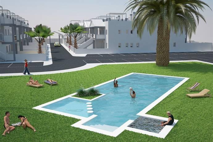 Bild: 3 rum bostadsrätt på Oasis Place, 2 sovrum m trädgård, Spanien Costa Blanca - Playa Flamenca