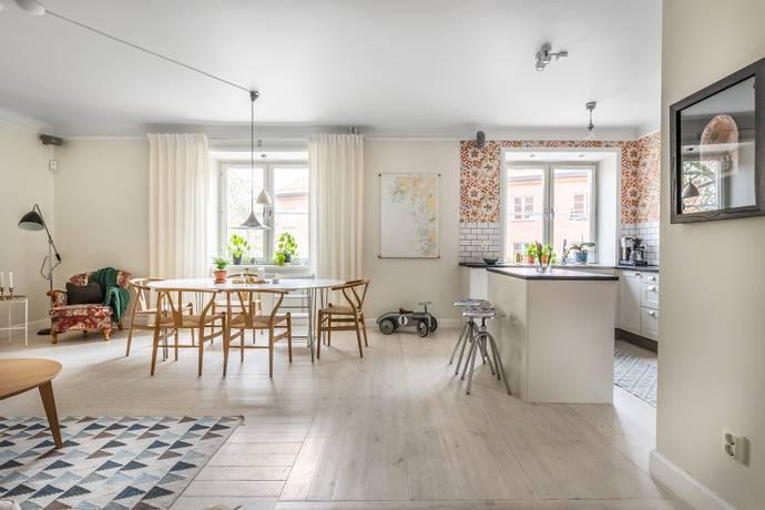 Bild: 3 rum bostadsrätt på Västeråsgatan 11, 1 tr, Stockholms kommun Vasastan