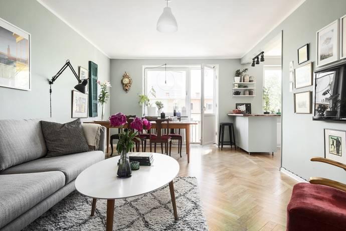 Bild: 3 rum bostadsrätt på Porlabacken 37, Stockholms kommun Hagsätra
