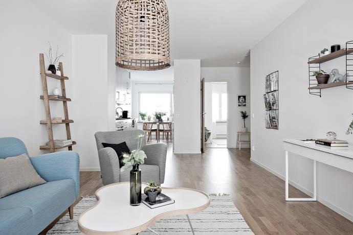 Bild: 2 rum bostadsrätt på Bratteråsgatan 46, Göteborgs kommun Eriksberg