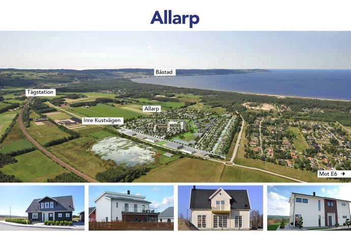 Bild: tomt på Allarp - Den hållbara småstaden, Laholms kommun Skummeslövsstrand