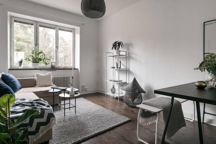 Bild: 2 rum bostadsrätt på Broderivägen 13, Stockholms kommun Åkeshov
