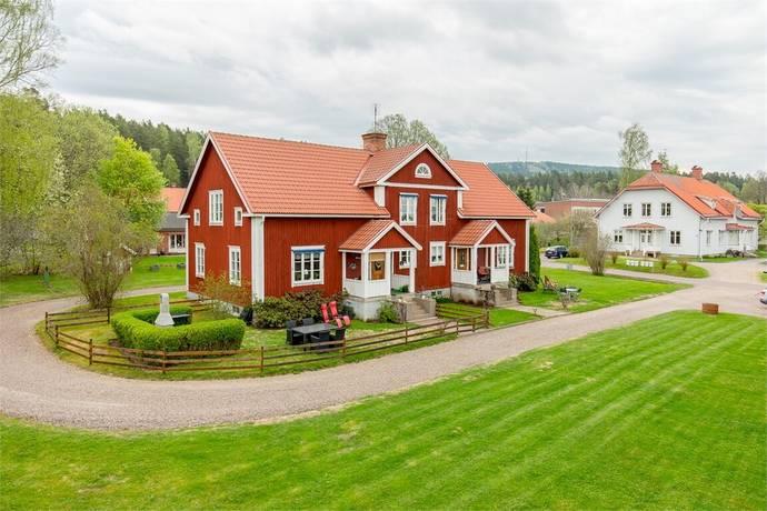 Bild: 11 rum radhus på Lärarevägen 1A, B, Hagfors kommun