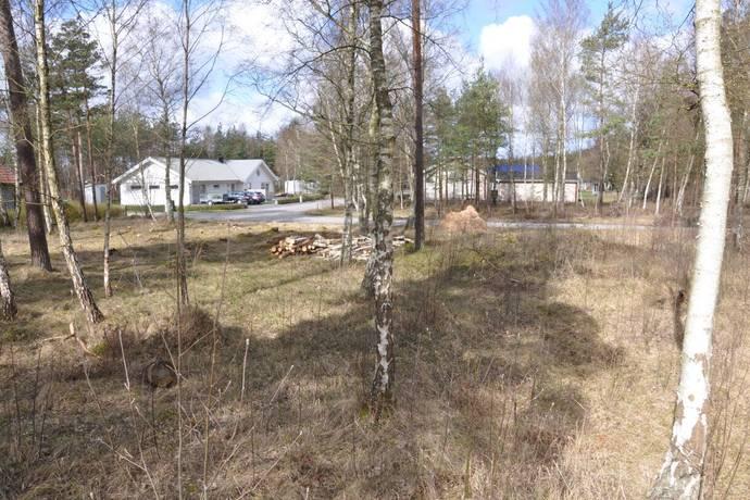 Bild: tomt på Björnbärsvägen 25, Laholms kommun Mellbystrand