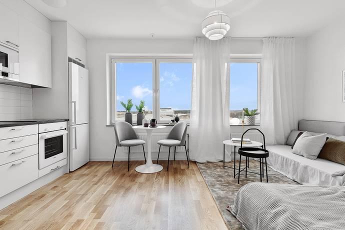 Bild: 1 rum bostadsrätt på Albert Engströmsgatan 2H, Uppsala kommun Gränby