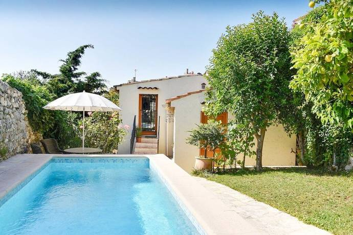 Bild: 4 rum villa på Saint-Paul-de-Vence, Frankrike Franska Rivieran