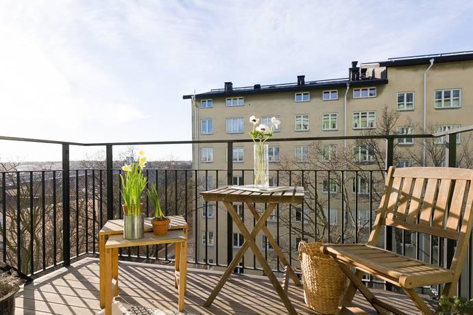 Bild: 1 rum bostadsrätt på Love Almqvists väg 10, 4 tr, Stockholms kommun Kungsholmen Kristineberg