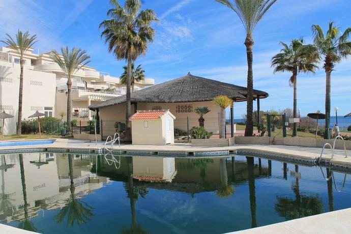 Bild: 5 rum bostadsrätt på Sydvänd frontline beach lägenhet, 80 kvm terrass!, Spanien Estepona