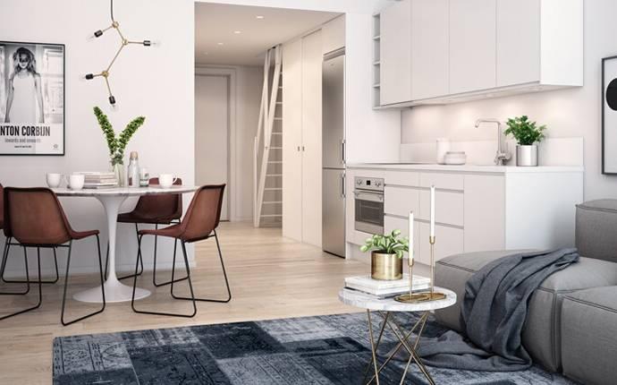 Bild: 1 rum bostadsrätt på Vårdsätravägen 3 D, Uppsala kommun Rosendal