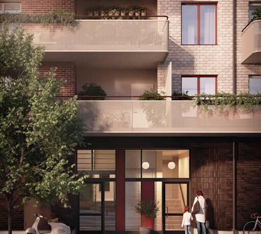 Bild: 3 rum bostadsrätt på Industrigatan (2-4401), Uppsala kommun