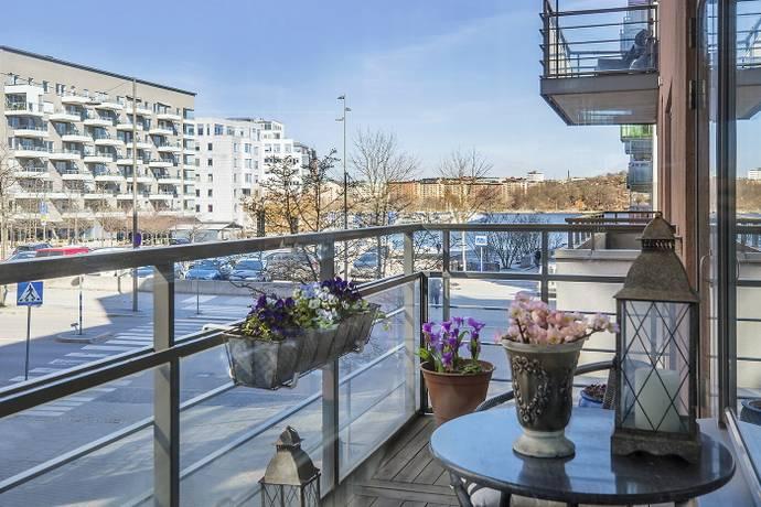 Bild: 4 rum bostadsrätt på Grönbrinksgatan 1, 1tr, Stockholms kommun Liljeholmskajen