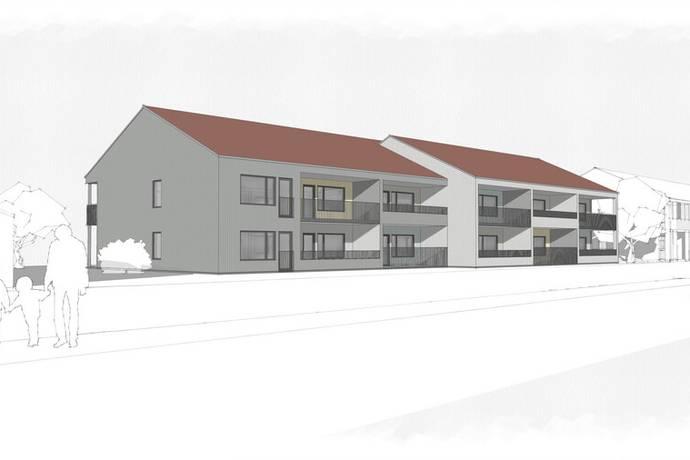 Bild från Nyproducerade lägenheter i centrala Skene