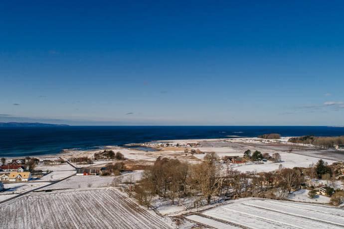 Bild: tomt på Lillahultsvägen 27, Båstads kommun Stora Hult