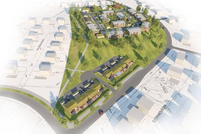 Bild: 3 rum bostadsrätt på Havsörnen, Laggarhult, Katrineholms kommun Laggarhult