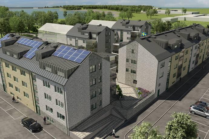Bild från Liljeholmen, Jönköping - Livskvalitet på Liljeholmen i HSBs senaste projekt Brf Fågeln