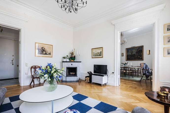 Bild: 3 rum bostadsrätt på Karlavägen 27B, Stockholms kommun Östermalm