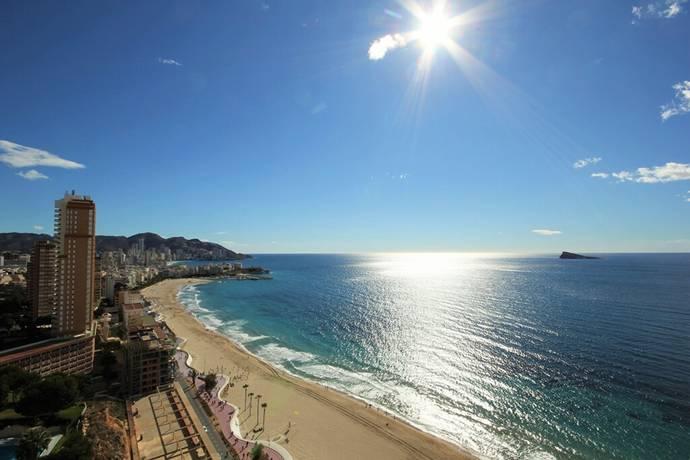 Bild: 3 rum bostadsrätt på Solig lägenhet med panoramautsikt, Spanien COSTA BLANCA - BENIDORM