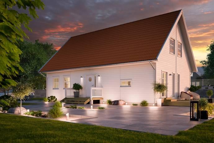 Bild: 5 rum villa på Husbacka Villa Spira 168 (Hjältevadshus) tomt nr 15, Kvistagran 31, Östhammars kommun Östhammar