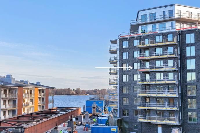 Bild: 2 rum bostadsrätt på Finnboda Kajväg 6, Nacka kommun Finnboda Hamn