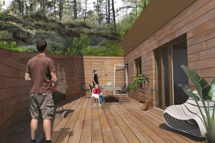 Bild: 5 rum bostadsrätt på Skogsbovägen 24 Hus 1 lgh 122, Värmdö kommun Gustavsberg - Ösby Sjöpark