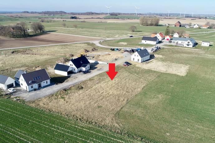 Bild: tomt på Dalabacken 10, Ystads kommun Ystad-Bromma