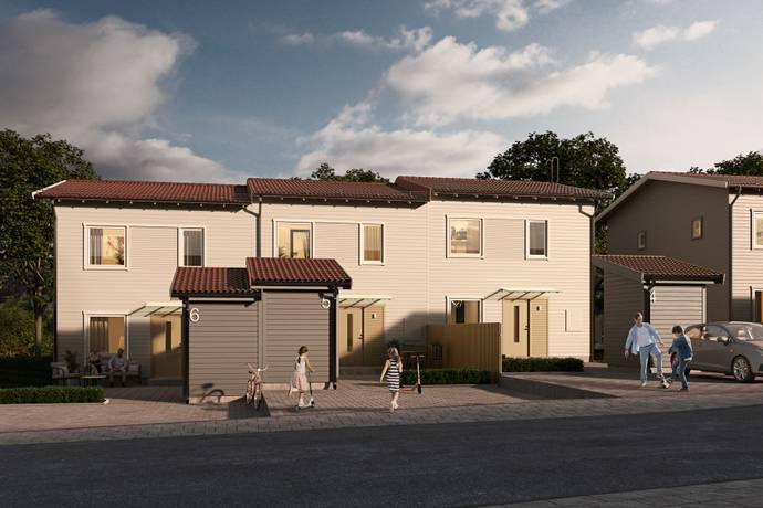 Bild från Södra Hemlingby - Etapp 2! Nyproducerade radhus i familjärt utförande med närhet till naturen!