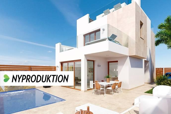 Bild: 4 rum villa på Nya strandvillor med pool i El Mojón, Spanien Torrevieja Söder - Torre de la Horadada